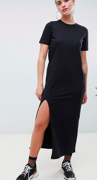 ASOS DESIGN ultimate t-shirt maxi dress