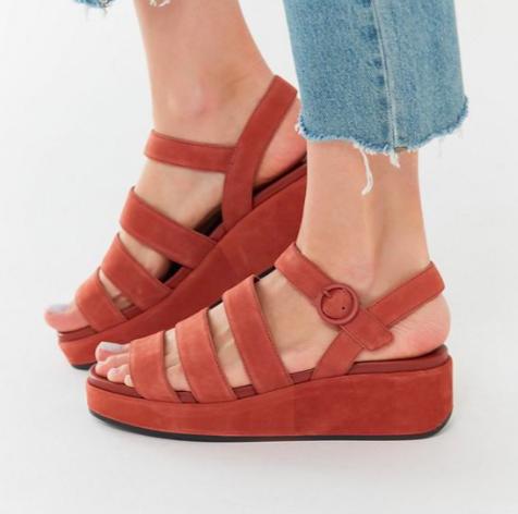 Camper Misia Strappy Platform Sandal