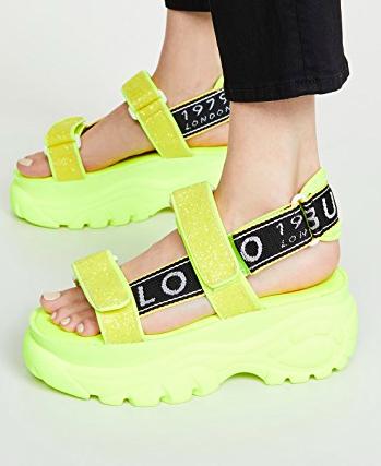 Buffalo London Ella Classic Kicks Sandals