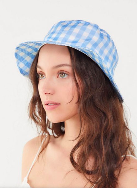 UO Gingham Bucket Hat