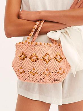 Leighanne Beaded Crochet Clutch