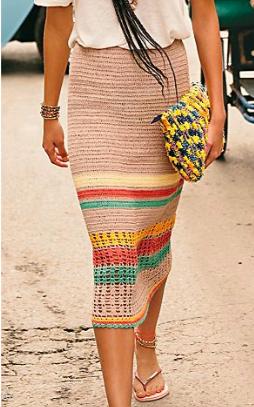 St. Tropez Midi Skirt