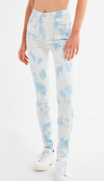 BDG Twig High-Rise Skinny Jean – Tie-Dye