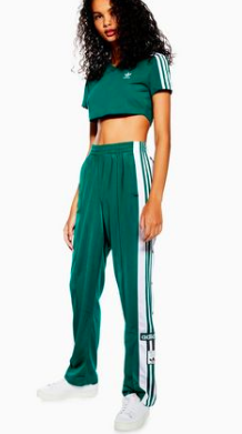 GREEN SET BY ADIDAS