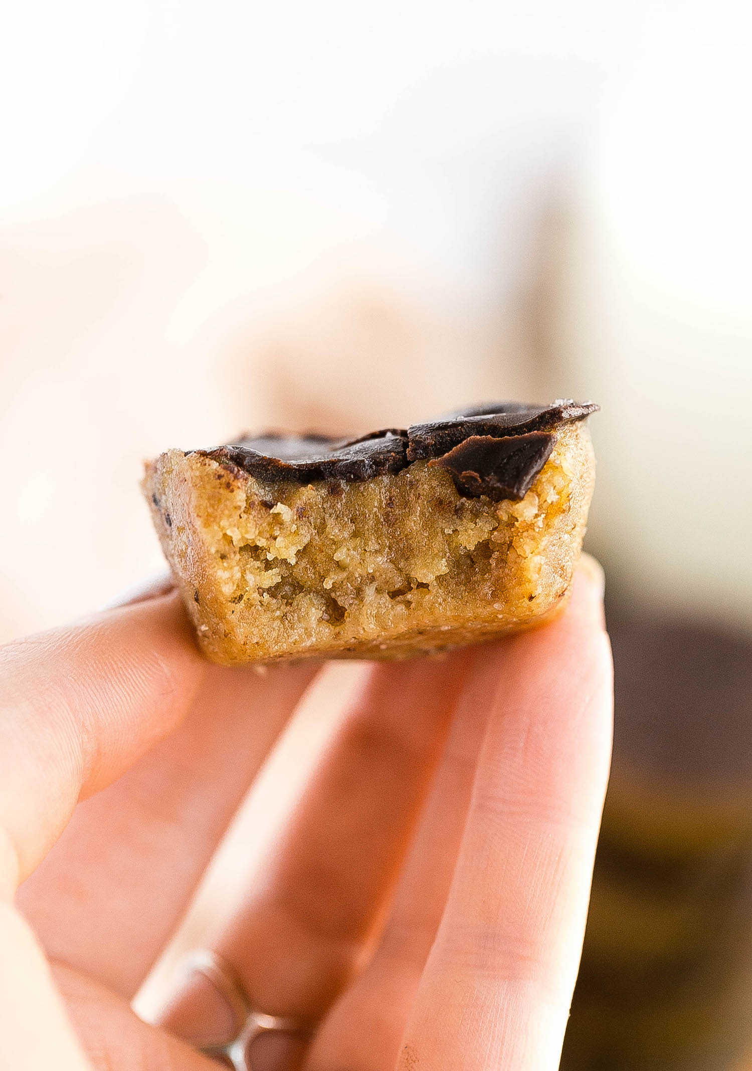No-Bake Caramel Chocolate Cups: grain-free, dairy-free, refined sugar-free, packed with nutrient-dense ingredients, and still a dangerously delicious, rich, chewy, snack.   TrufflesandTrends.com