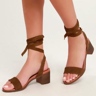 Adrianne Ankle Wrap Sandal STEVE MADDEN