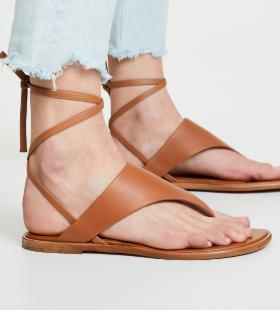 Eastwood V-Strap Wraparound Sandal VINCE