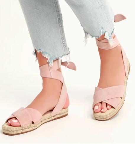 Tereza Ankle Wrap Sandal  SPLENDID