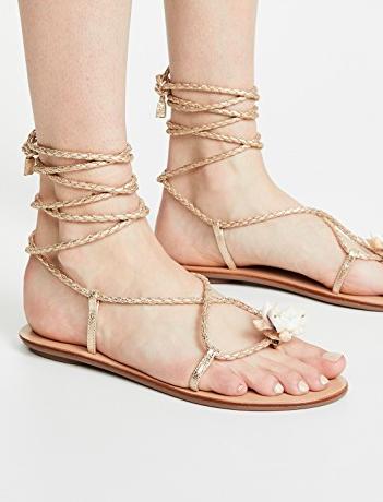 Loeffler Randall Shelly Wrap Sandals