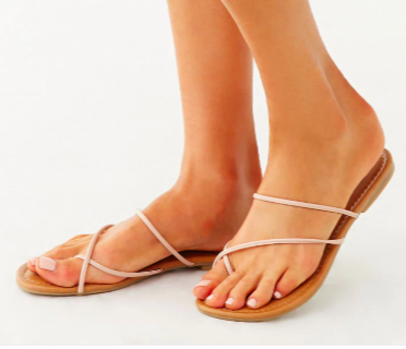 Forever 21 Crisscross Thong Sandals