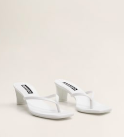 Mango Heel leather sandals