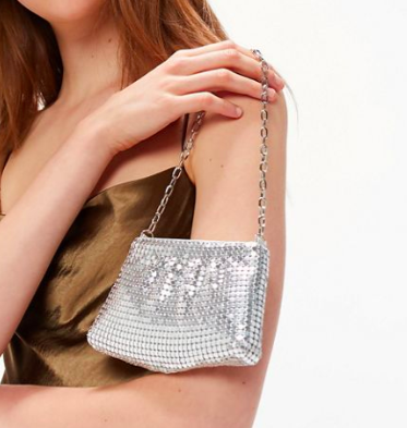 UO Carrie Chainmail Handbag