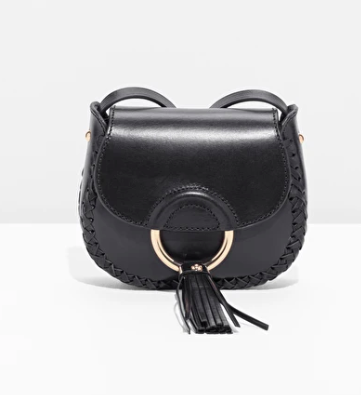 Braided Mini Saddle Bag