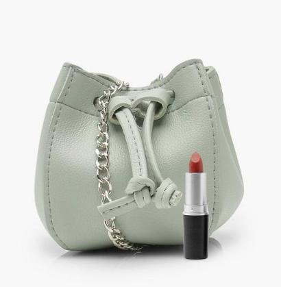 Boohoo Micro Mini Duffle Cross Body Bag