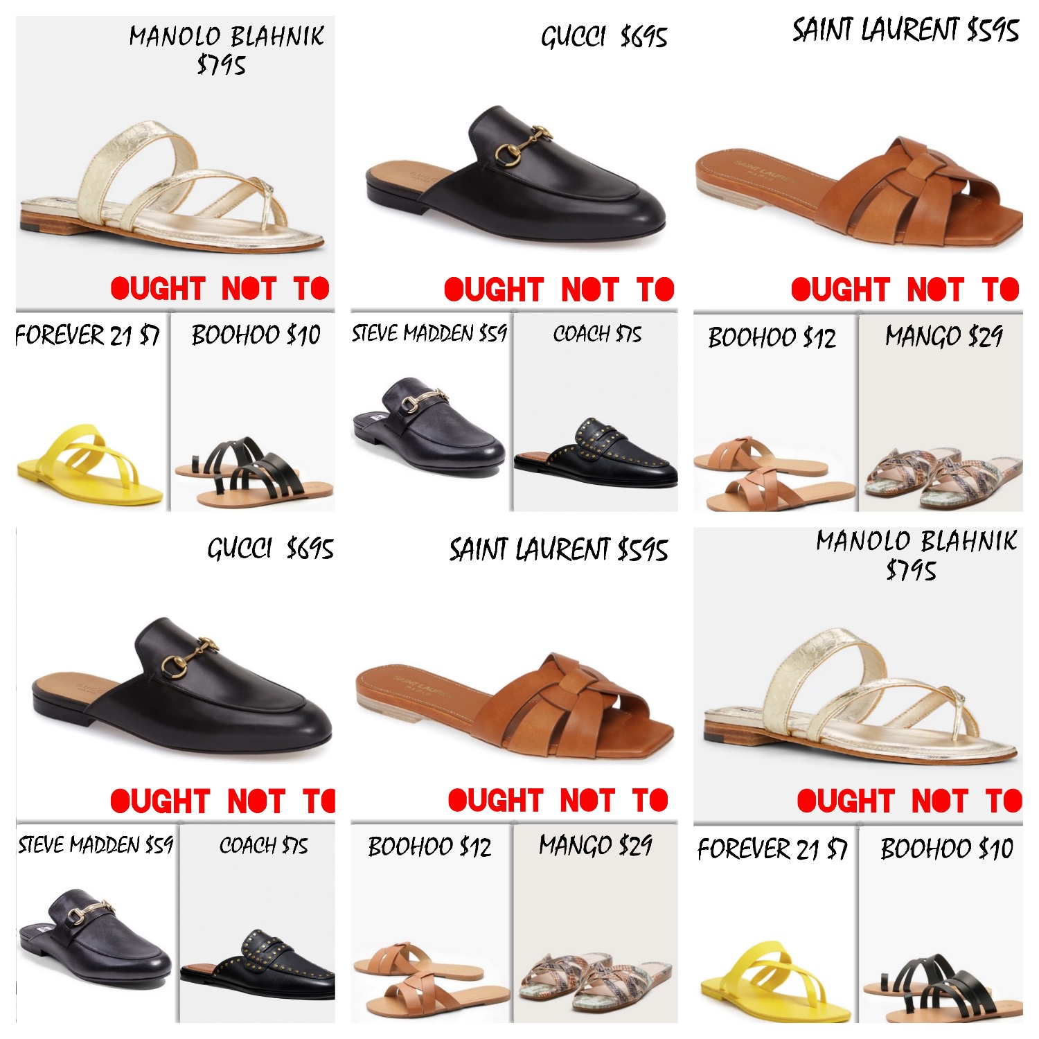 Ought Not To, Ought To: Slides | Trufflesandtrends.com