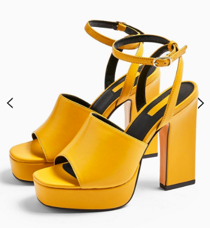 Topshop RAFA Chunky Platform Shoes