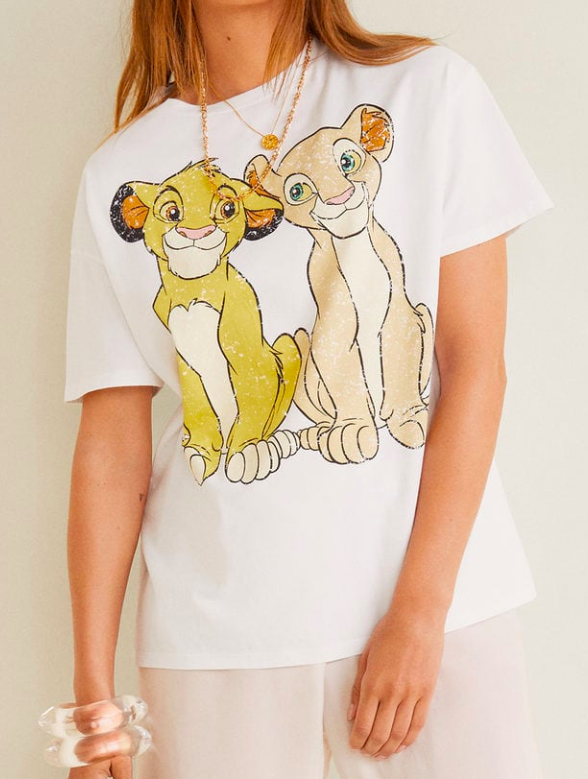 Mango Disney t-shirt