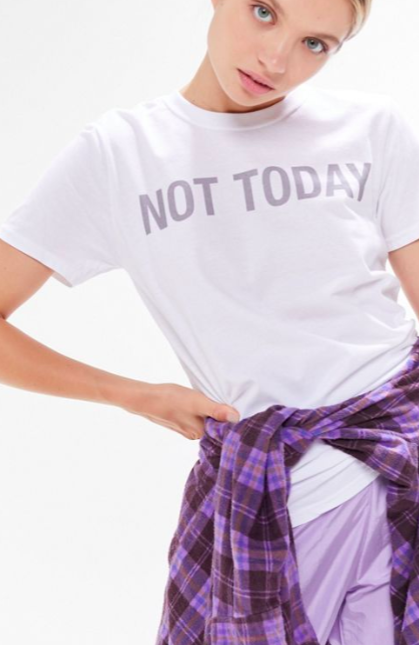 UO Not Today Tee