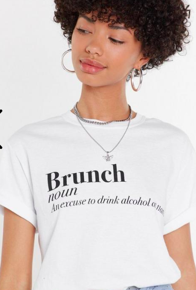 The Definition of Brunch Graphic Tee Promotions