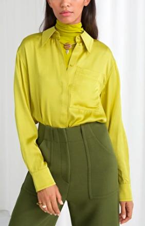 Stories Tailored Button Up Shirt