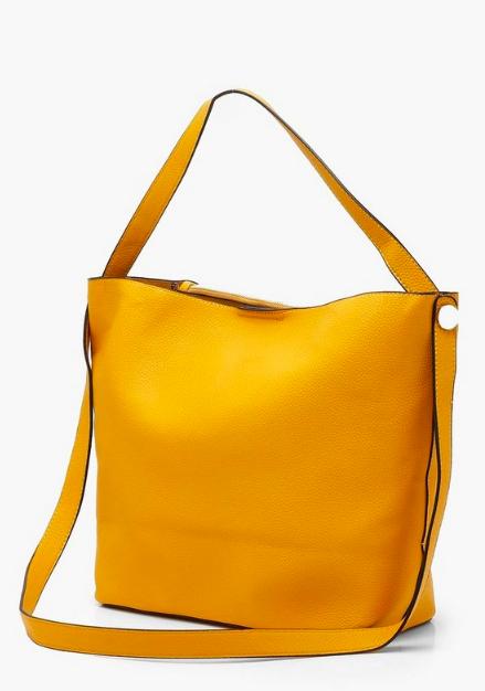 Boohoo Bucket Day Bag With Cross Body Strap