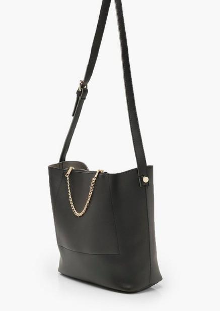 Boohoo Chain Detail Bucket Daybag
