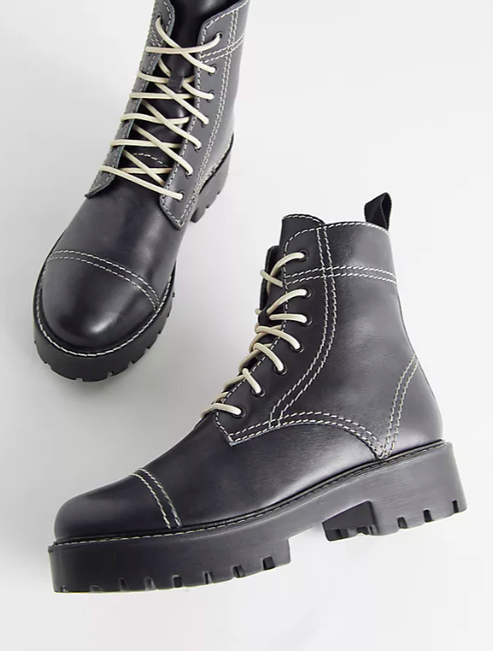 UO Juliette Treaded Lace-Up Boot