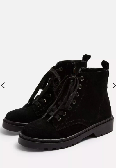 Topshop BUMBLE Lace Up Boots