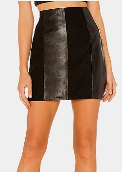 The Lynch Leather Skirt L'Academie