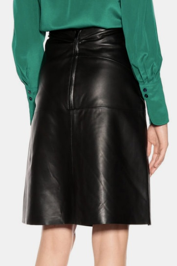 Leather Gaze A-LINE SILHOUETTE WOMEN LEATHER SKIRT