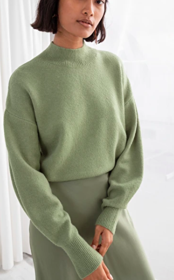 Stories Mock Neck Sweater