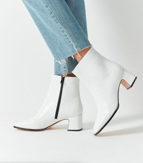 UO Kate Croc Ankle Boot