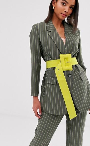 ASOS DESIGN premium pinstripe suit