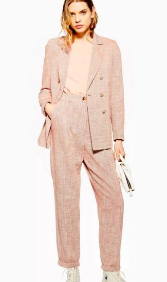 Topshop Marl Suit