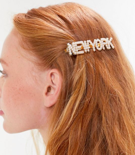 UO Spell It Out Hair Clip