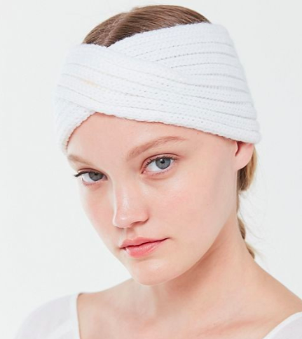 UO Ribbed Ear Warmer Headband