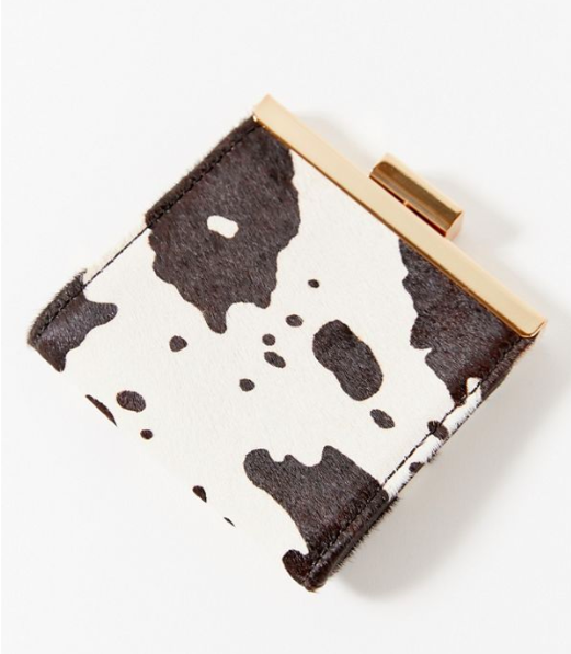 UO Calf Hair Coin Purse