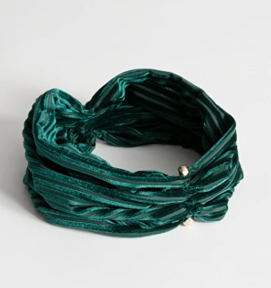 Stories Velvet Stripe Hairband