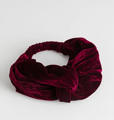 Stories Velvet Twist Knot Hairband