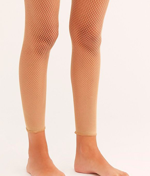 Capezio Crop Studio Fishnet Tights