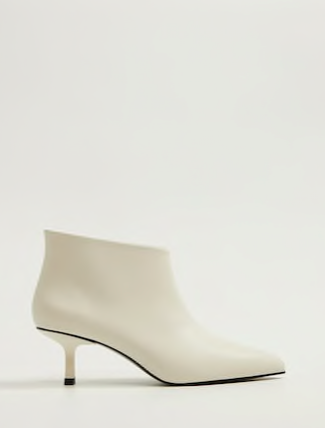 Mango Ankle boots with open leg