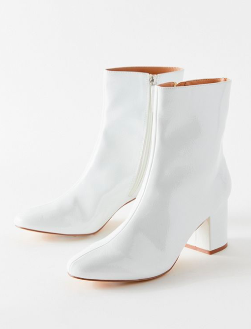 UO Alana Patent Faux Leather Boot