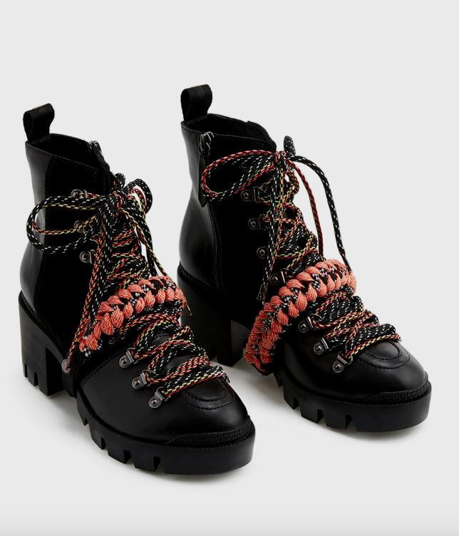 Emanuela Platform Hiking Boot SCHUTZ
