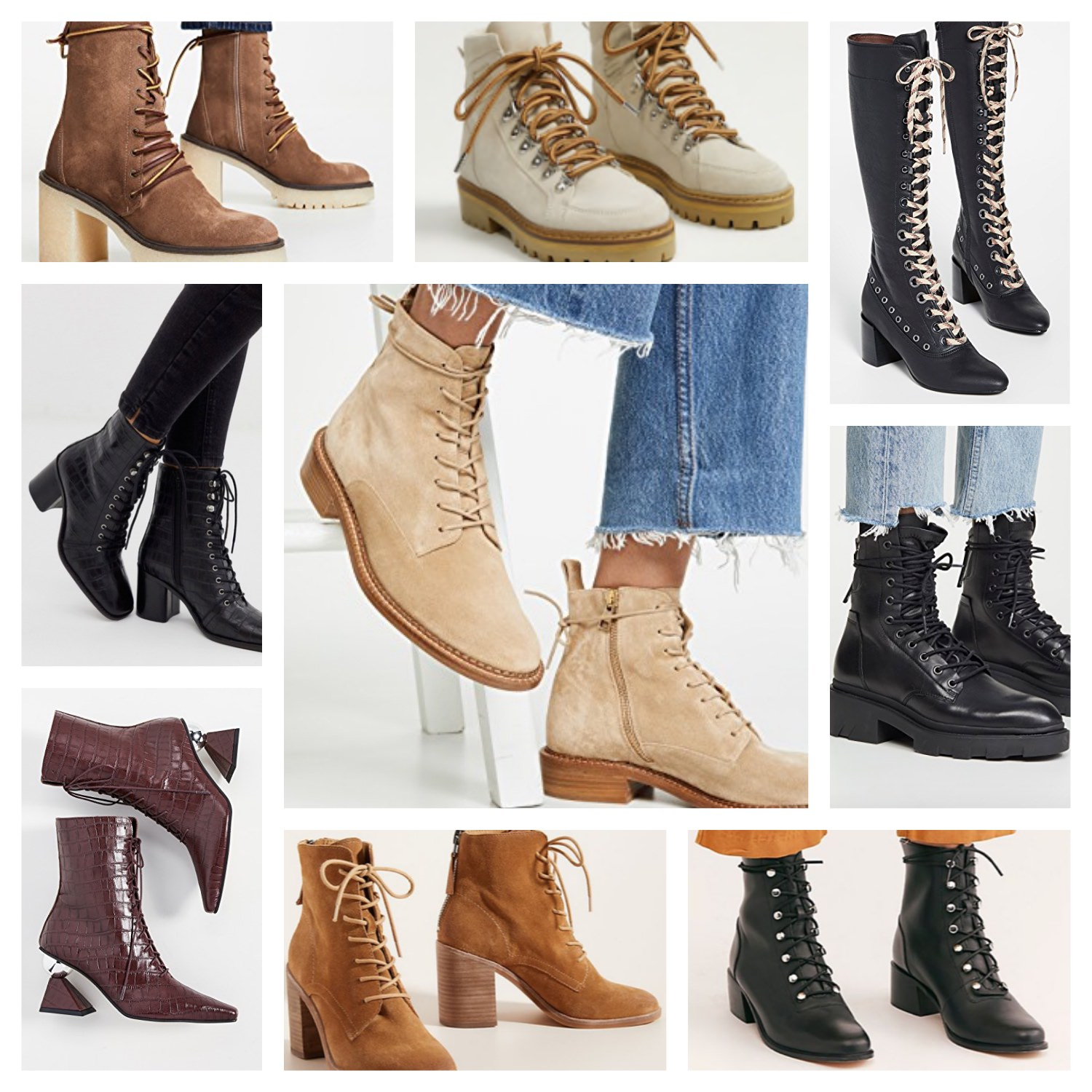 Lace Up Boots: 40 Picks   Truffles and
