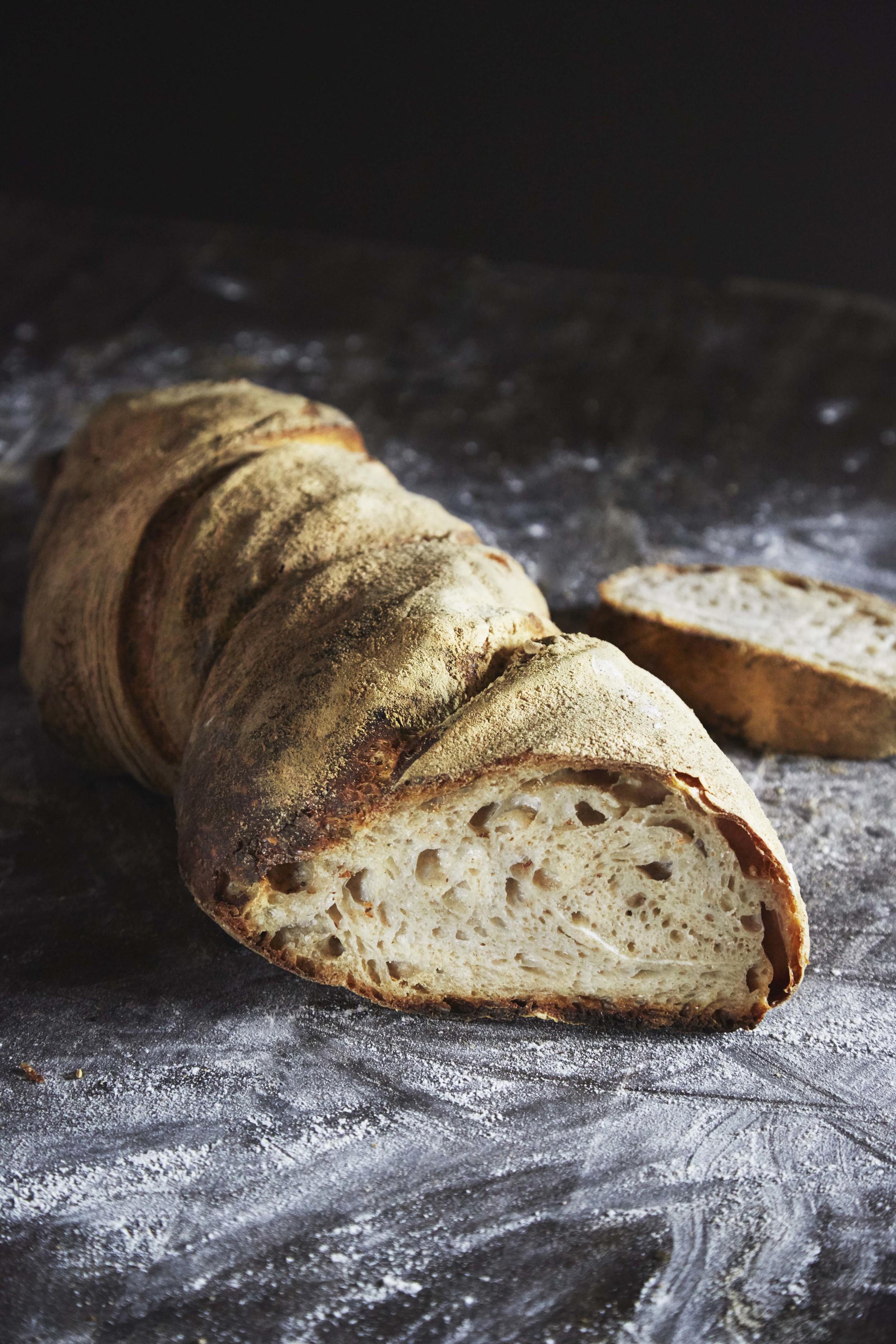 Fluffy bread from Handverk, editorial for Matmagasinet NORD.