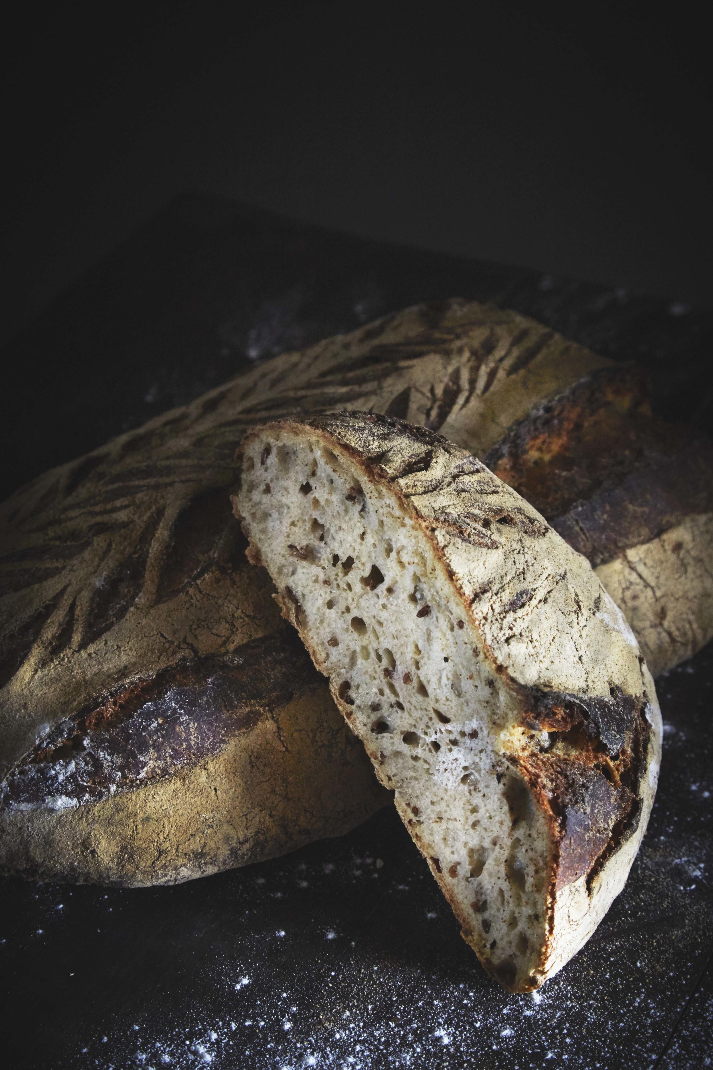 Rye bread from Handwerk, editorial for Matmagasinet NORD.