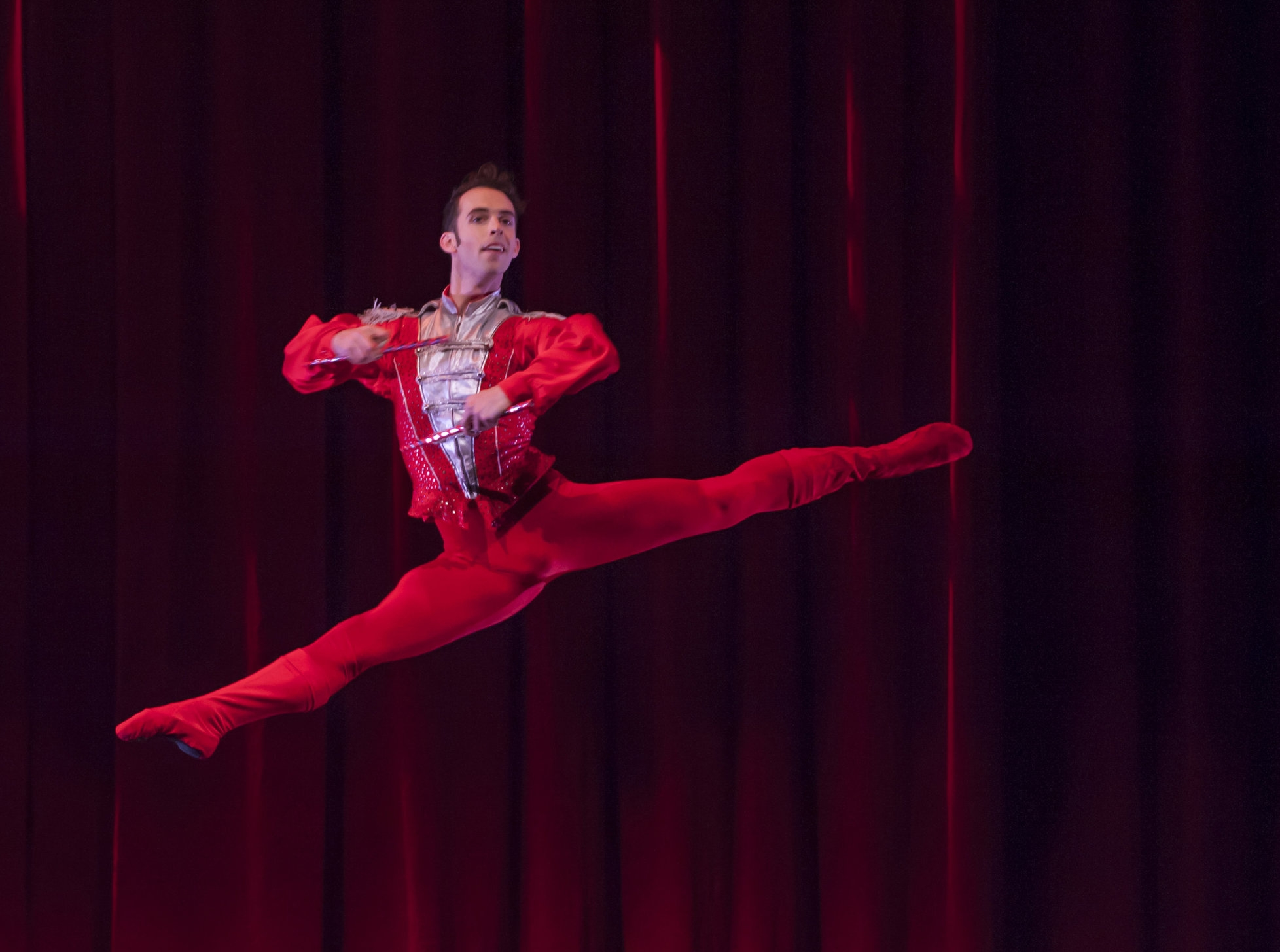 """""""Smuin dancer and choreographer Ben Needham-Wood goes the distance"""" - Andrew Gilbert, SF Chronicle, 26 Nov 2018"""