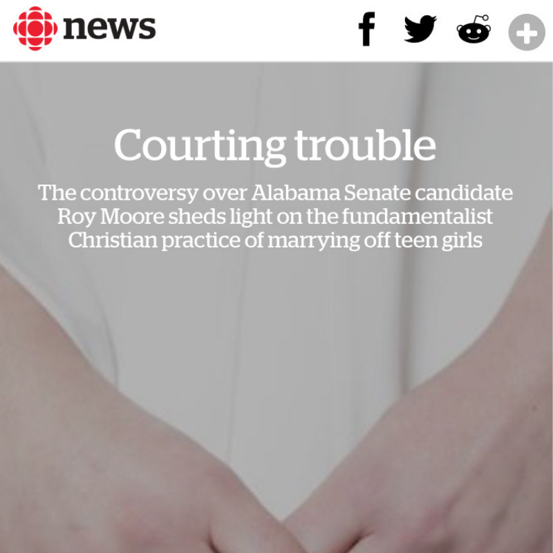 Read the Article on CBC Canada