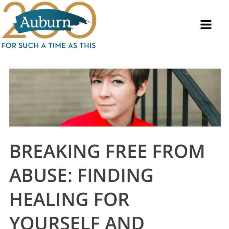 BREAKING FREE FROM ABUSE: FINDING HEALING FOR YOURSELF AND SUPPORTING OTHERS