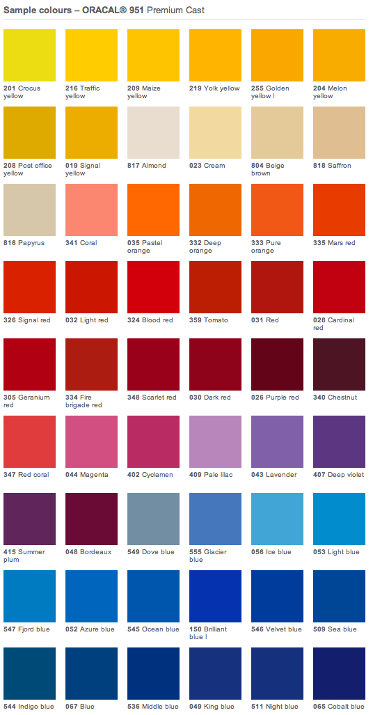 Oracal 951 color chart.png